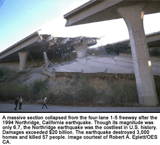 Northridge Quake Damage